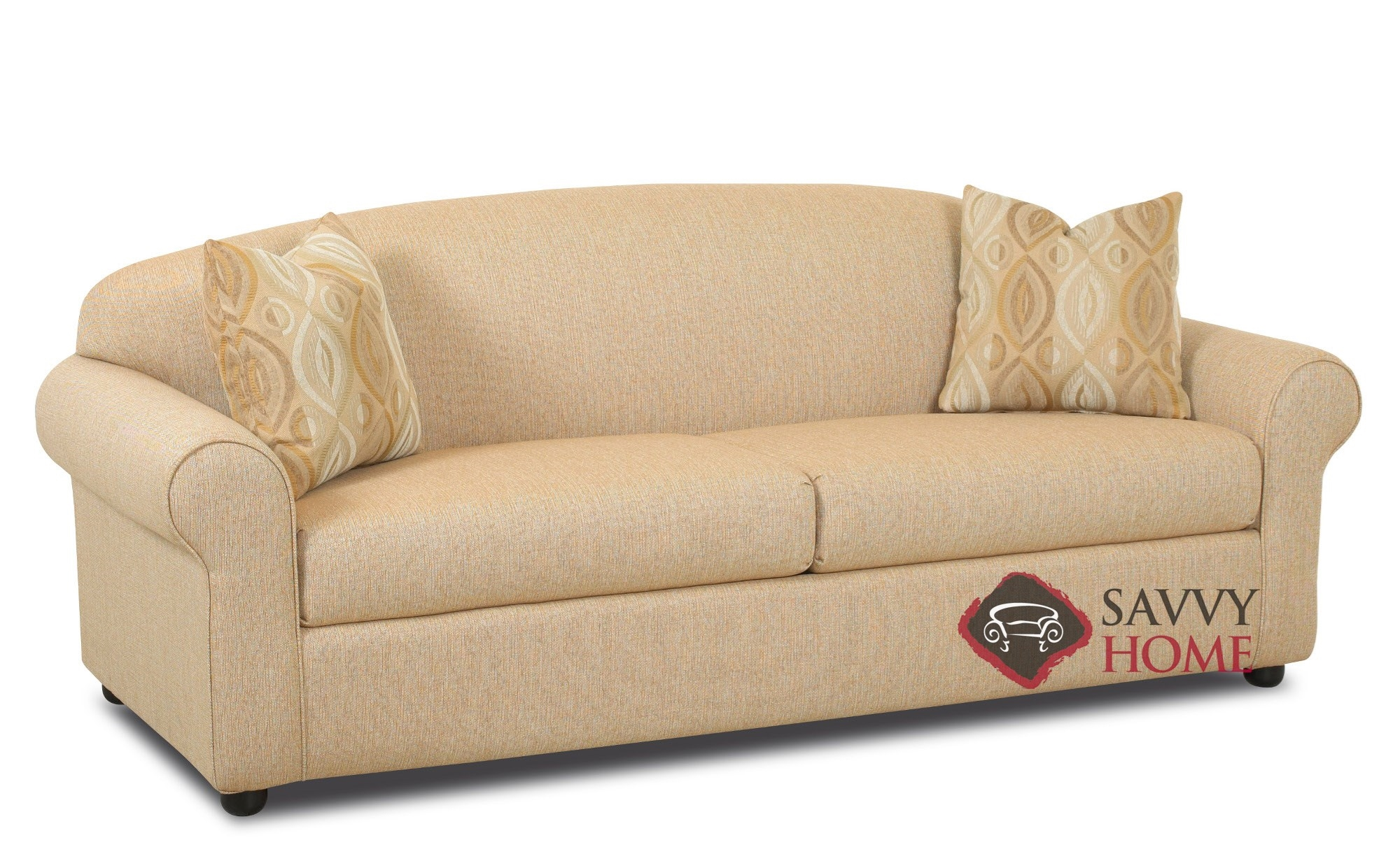 sofa sleeper chicago top rated 2018 fabric sofas queen by savvy is fully