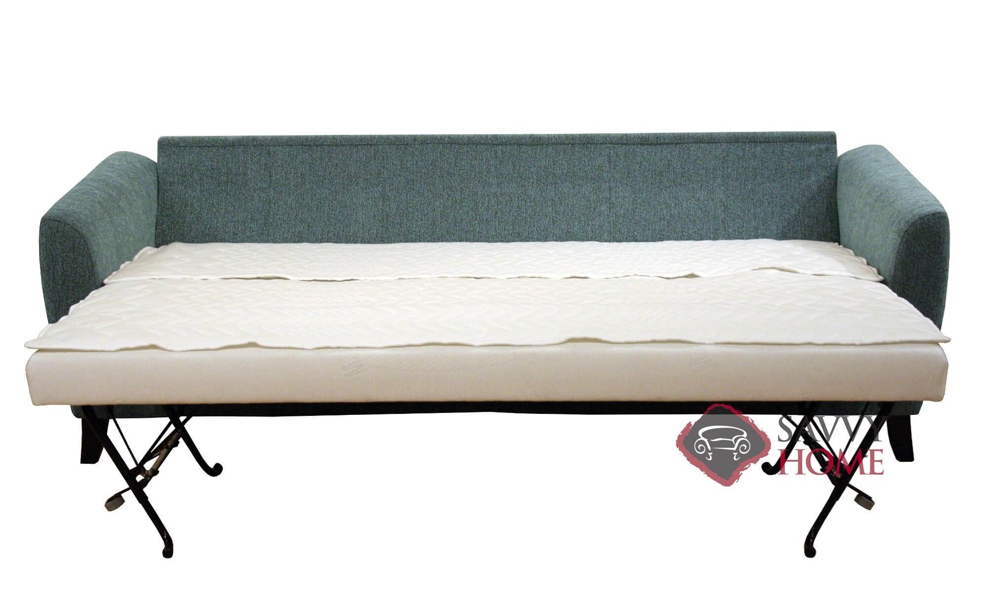 kaleigh fabric queen sleeper sofa bed slipcover for quick ship boras sofas in barcelona 30