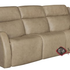 Two Cushion Power Reclining Sofa Chocolate Leather Decorating Ideas Quick Ship Aaron By Bernhardt In