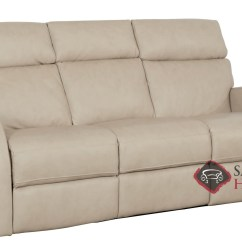 Two Cushion Power Reclining Sofa Cushions For Seats Quick Ship Clemens By Bernhardt Leather In