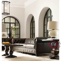 Bernhardt London Club Leather Sofa Price Dillards Furniture Quick Ship By Fabric Stationary In