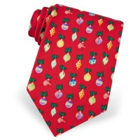 Holiday Neckties from Dann Clothing, 100% Silk, Christmas
