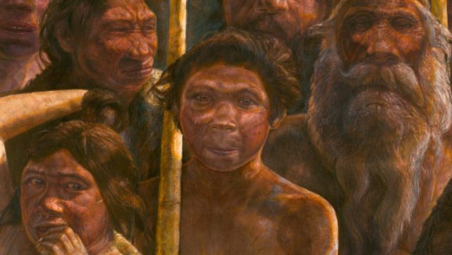 Sima de los Huesos hominins lived in what is now Spain about 400,000 years ago. Image credit: © Kennis & Kennis / Madrid Scientific Films.
