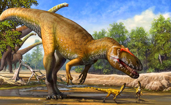 Cretaceous-period dinosaurs had to deal with greater seasonal differences than previously thought. Image credit: Sergey Krasovskiy.