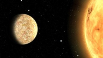 An artist's impression of the super-Earth K2-265b. Image credit: Sci-News.com.