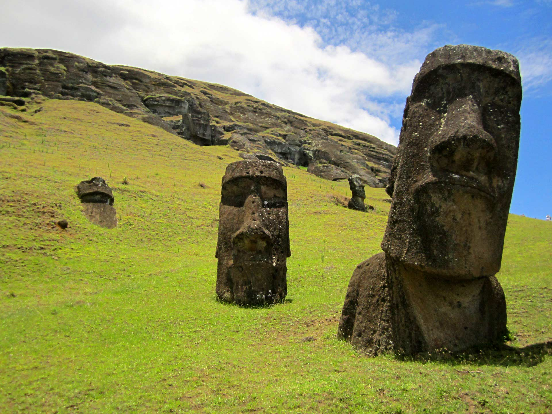 Study Easter Island May Have Had Population of 17500 in