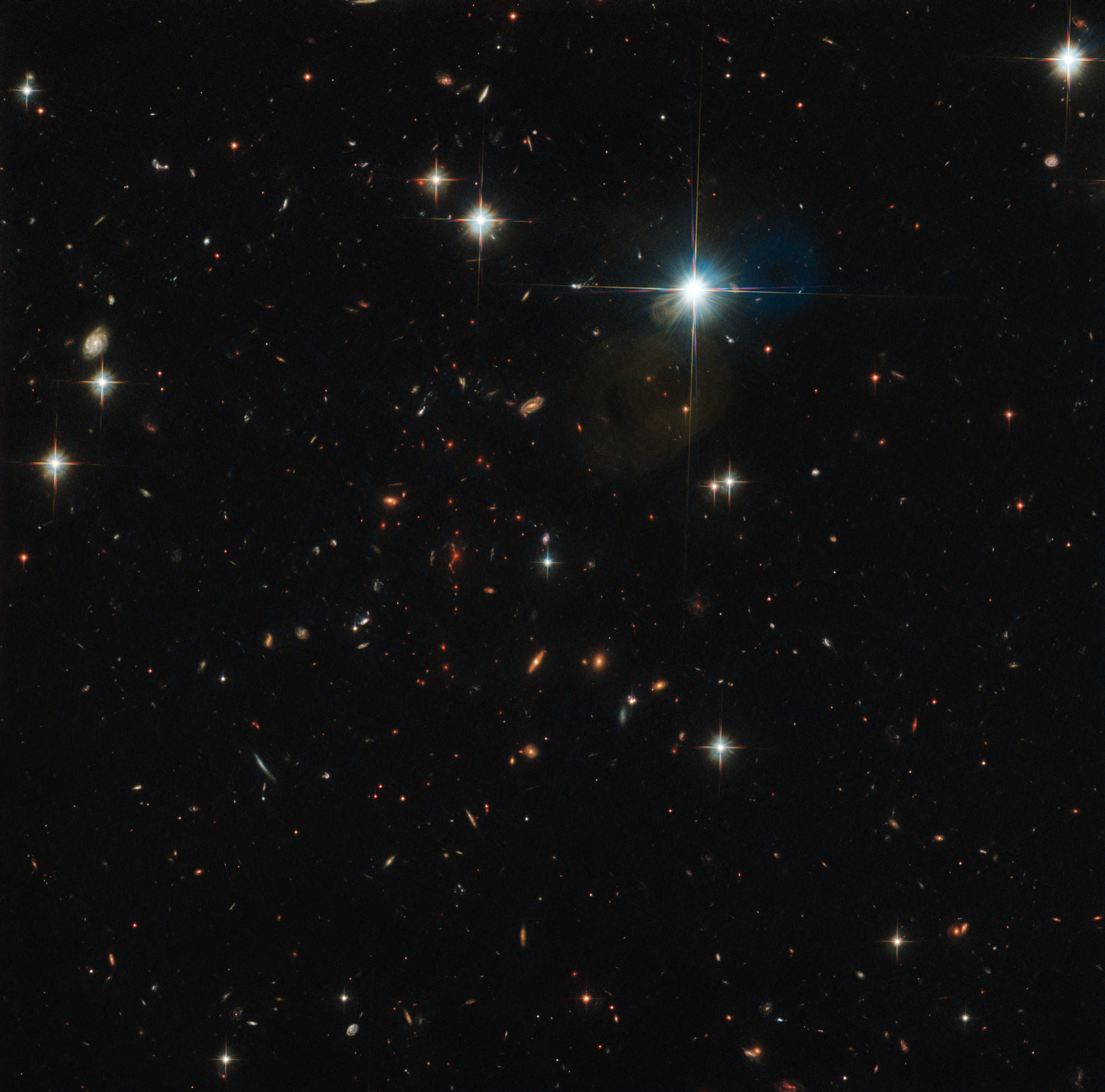 hubble sees extremely distant