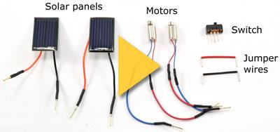 slideshow solar circuit holder