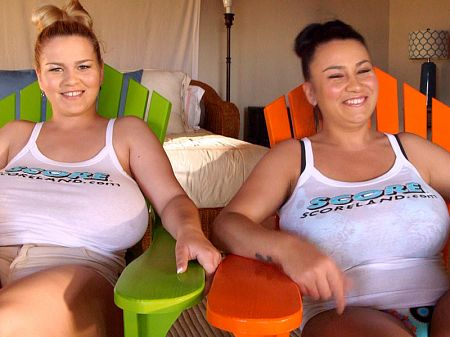 The Star Sisters Are Big-Boobed Swinging Stars