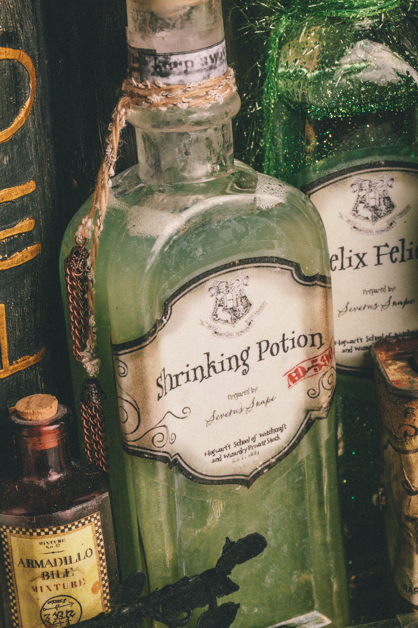 Other Diy Harry Potter Potions For Halloween Shrinking