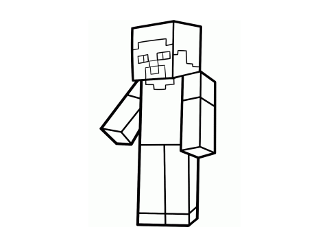 Steve From Minecraft Coloring Competition (CC) remix on