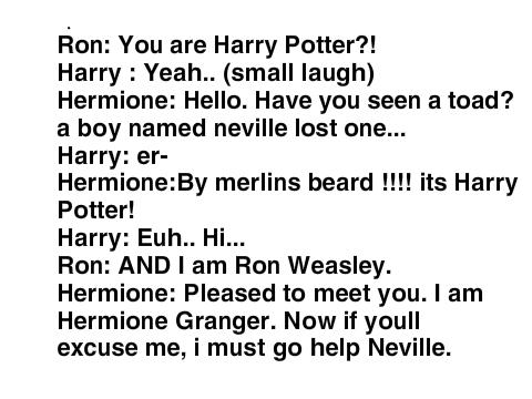 Harry Potter 1 script remix on Scratch