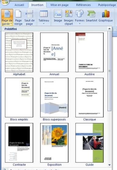 Comment Faire Une Mise En Page Sur Word : comment, faire, Garde, Rapport, Stage, Comment, Faire