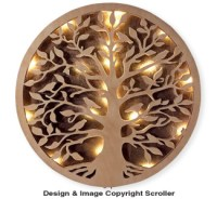 Candle & Lighted-Other - Lighted Tree of Life Wall Art Pattern