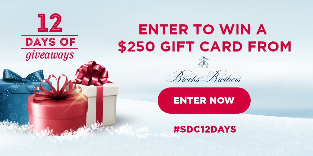 Win a gift card from Brooks Brothers!