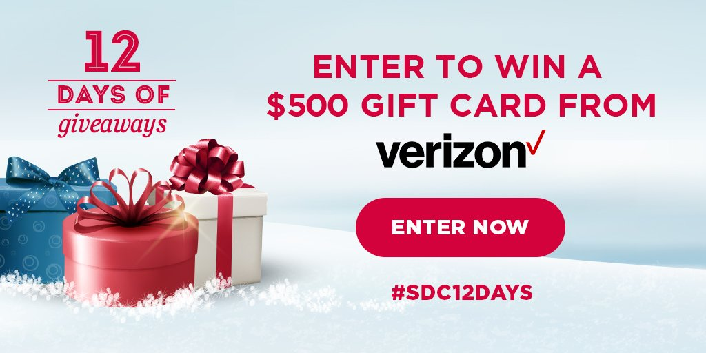 Win a gift card from Verizon!