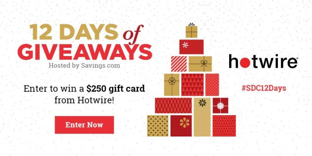 Win a $250 gift card from Hotwire!