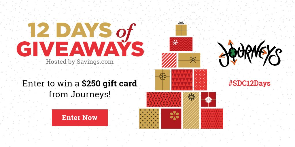 Win a $250 gift card from Journeys!