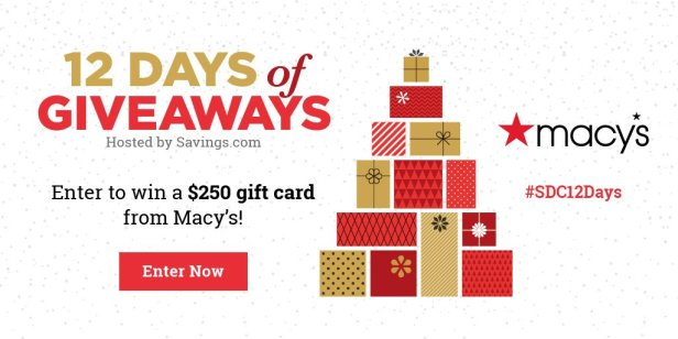 Win a $250 gift card from Macy's!