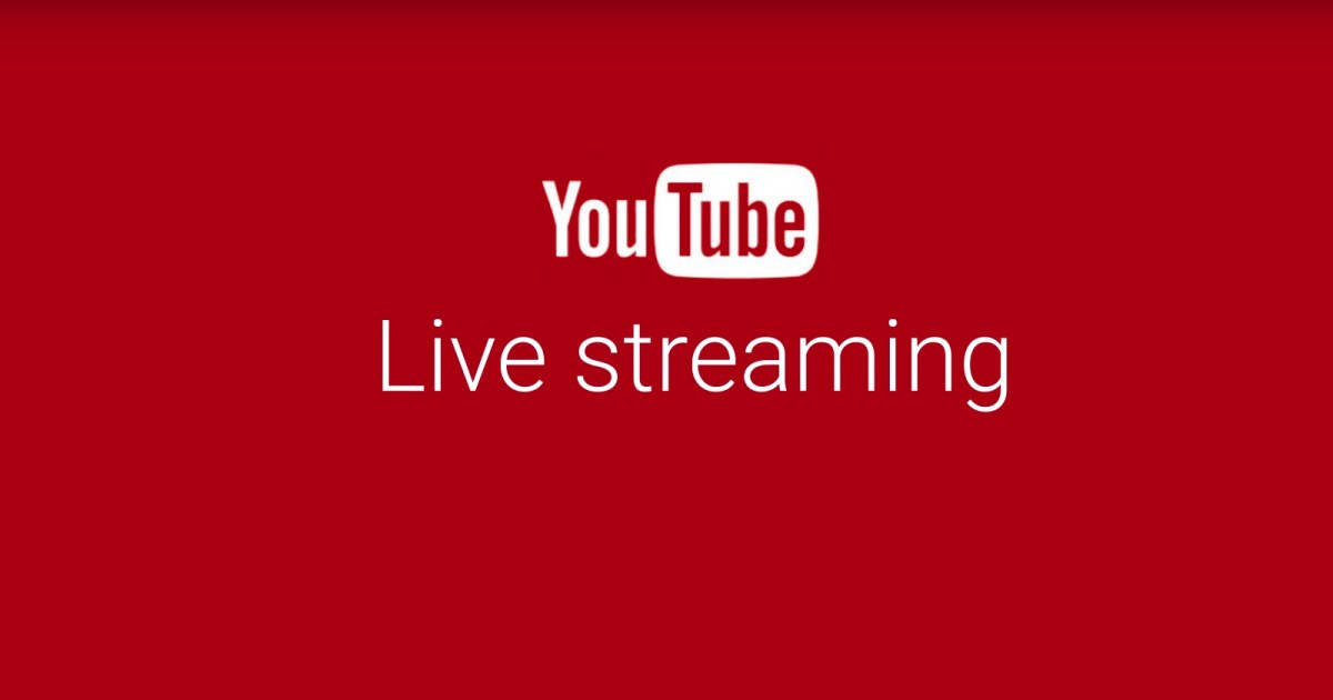 Image result for live stream youtube