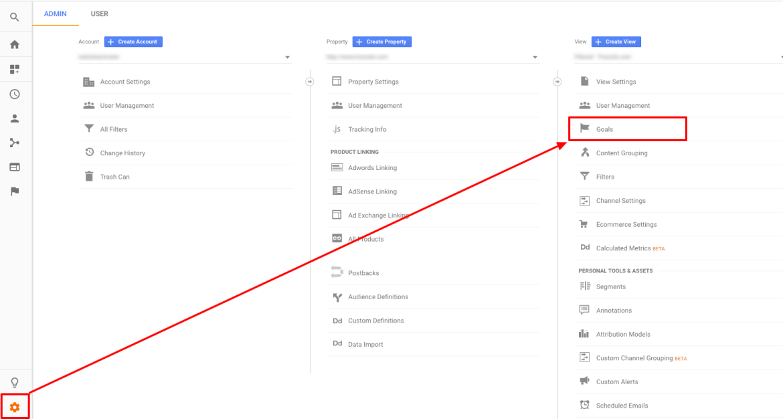How to set up goals on Google Analytics