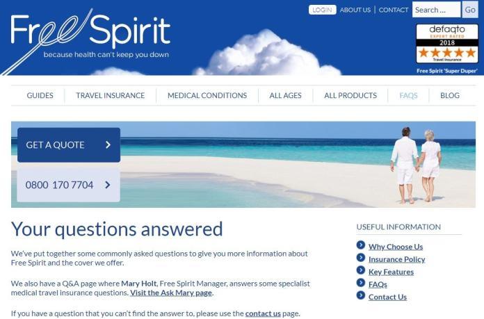 Free Spirit FAQs