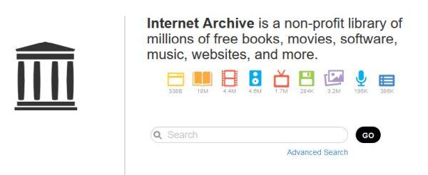 Internet Archive Search