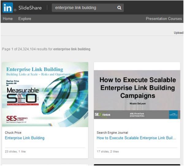 SlideShare Search