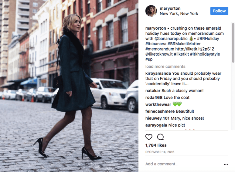 Banana Republic - Influencer Marketing