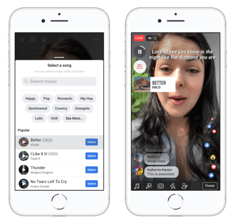 Facebook to Let Users Add Songs to Their Profile