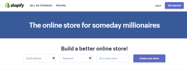 Shopify Facebook Landing Page