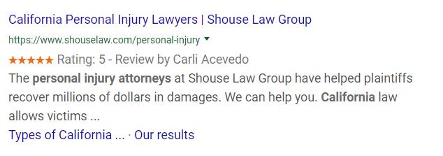 Local Business - Attorneys Schema Markup