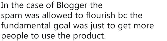 Screenshot of a tweet by ex-Googler, Jason Goldman