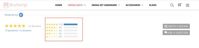 Buy Swings