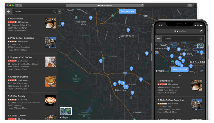 DuckDuckGo Improves its Maps Experience With Several Key Upgrades