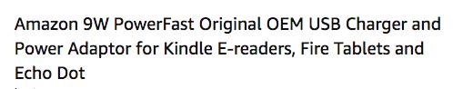 Amazon Product Title