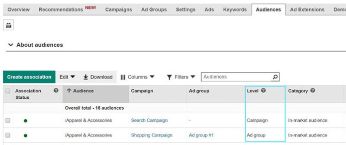 Microsoft Ads Makes it Easier to Change a Campaign's Audience Targeting