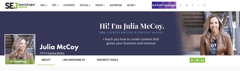 sej header julia mccoy