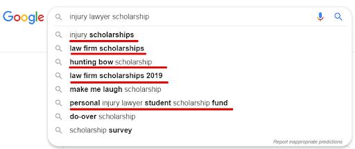 Scholarship Links