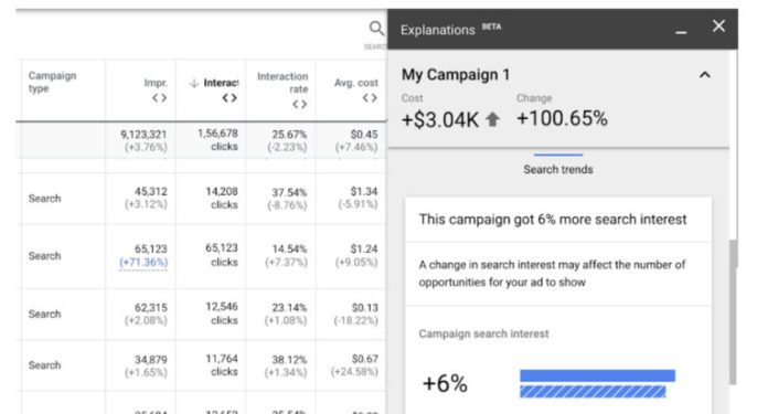 Google Ads Makes it Easier to Review a Campaign's Change History