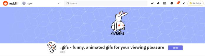 Reddit for GIFs