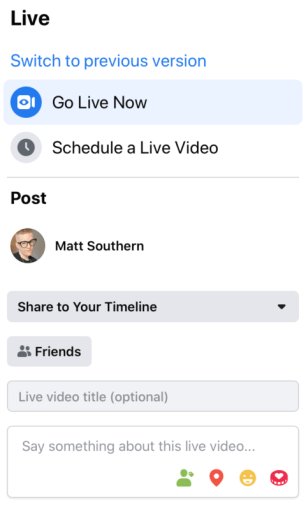 Facebook Focusing on Live Streaming As Usage Spikes During COVID-19 Lockdowns