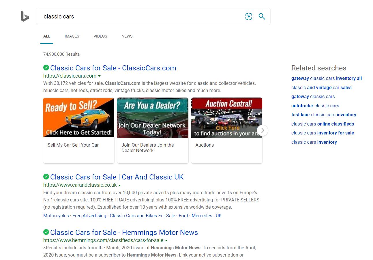 Bing Search Engine