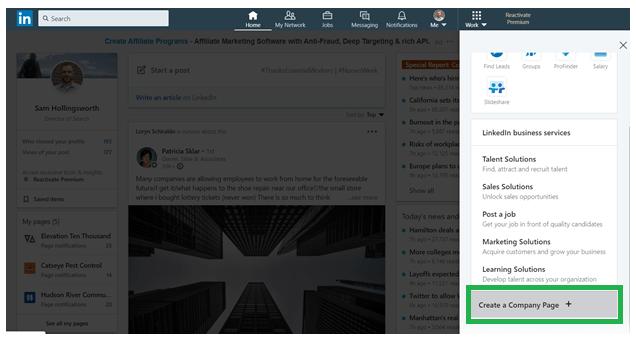 How to Create & Optimize a LinkedIn Company Page