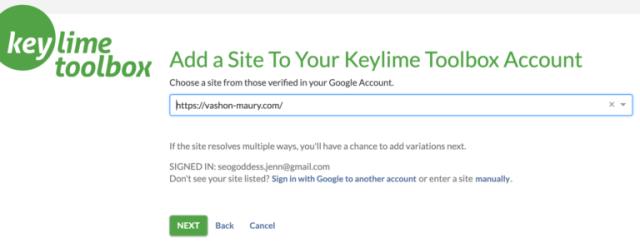 Registro بواسطة Keylime Toolbox