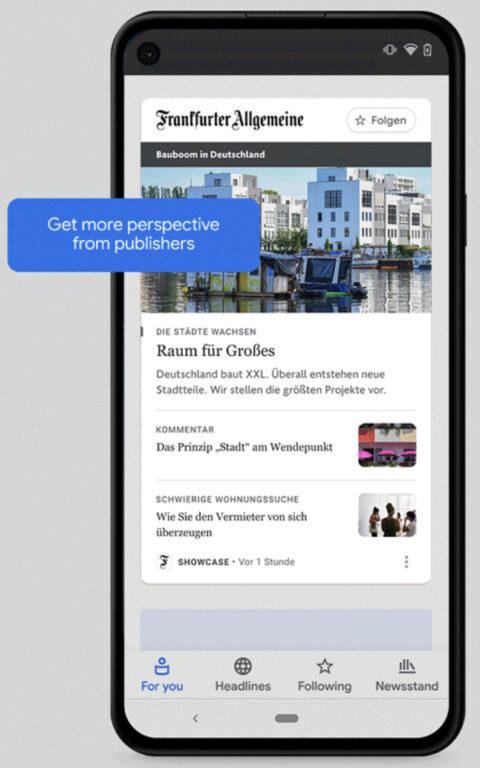 Google 'News Showcase' in arrivo per i risultati della ricerca