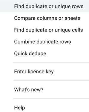 Remove Duplicates add on