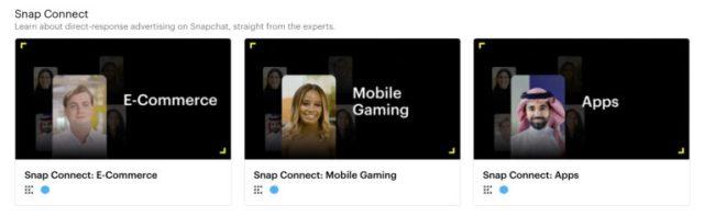 Snapchat تطلق المزيد من دورات شهادات الإعلانات