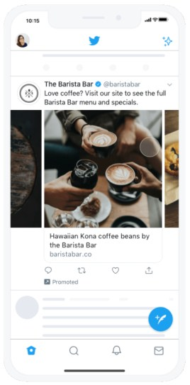 Twitter Debuts Carousel Ads With Up to 6 Images or Videos