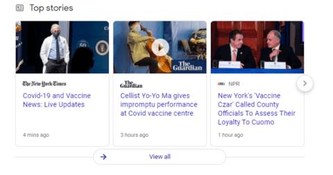 Google Top Stories